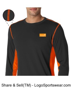 Men's Long Sleeve Dry-Fit T Design Zoom